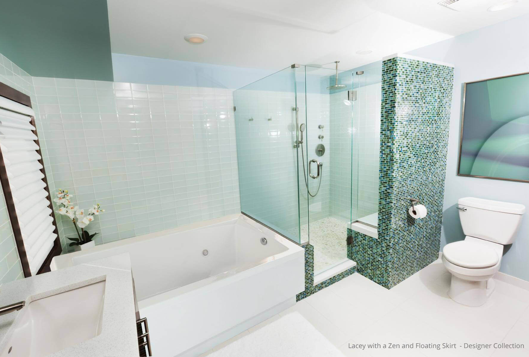 Lacey Designer Collection Rectangle | Hydrosystems