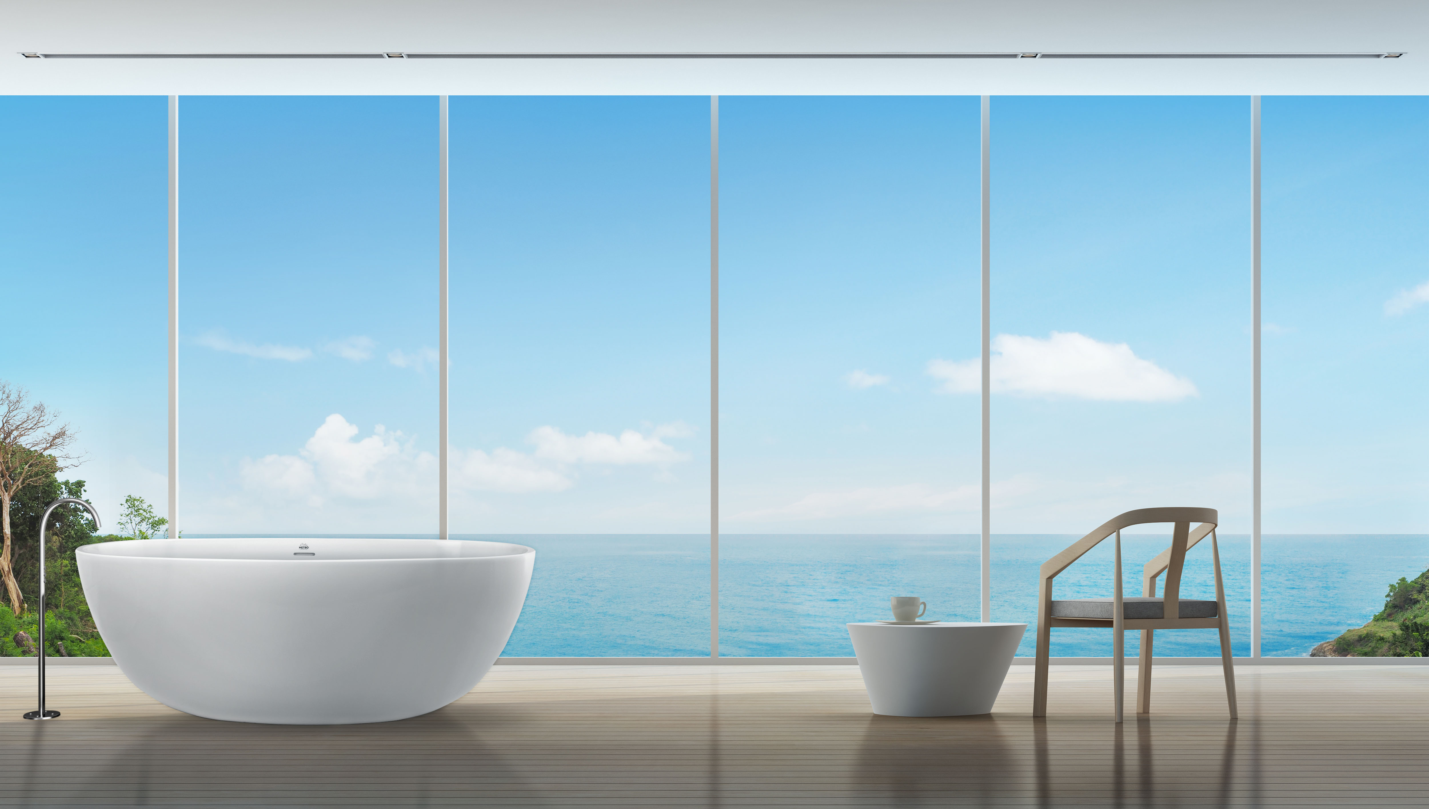 Alamo Freestanding Bathtub Hydrosystems