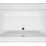 Angel Designer Collection Rectangle - Center Drain
