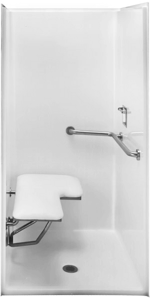 Hs3837 Bf Shower Enclosure Hydrosystems