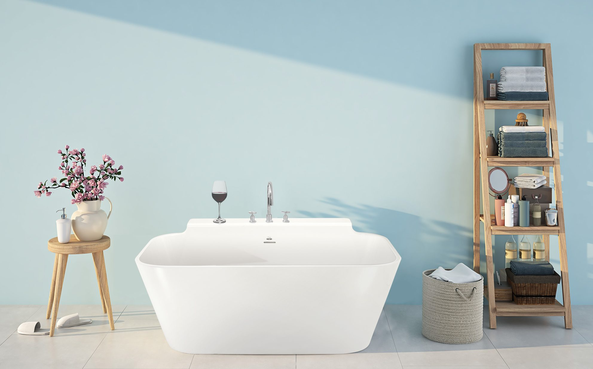 Richmond Freestanding Bathtub | Hydrosystems
