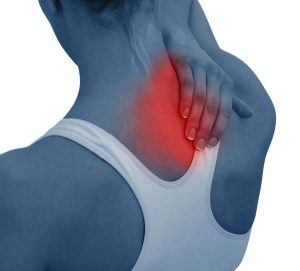 an image depicting lower neck pain