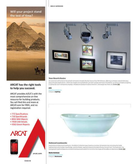 Architectural Products - Page 1