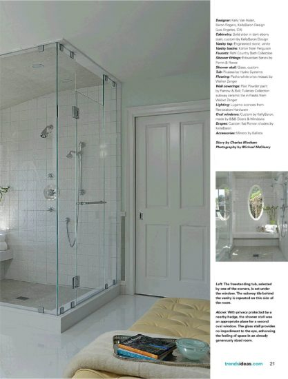 Bathroom Trends Magazine - Hydro Tub Feature