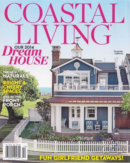 Coastal Living Magazine Cover