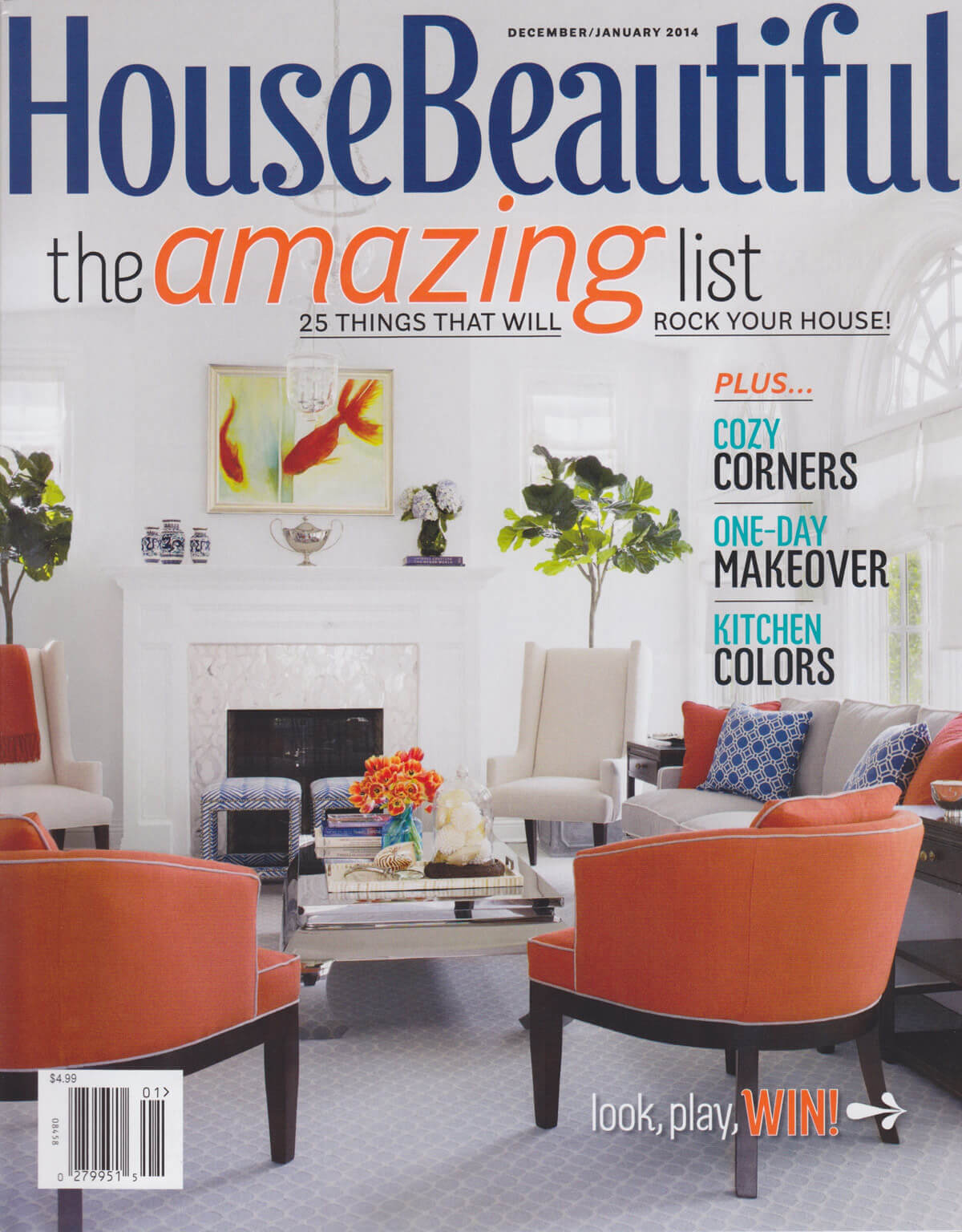 House Beautiful Magazine December January 2014 Hydrosystems
