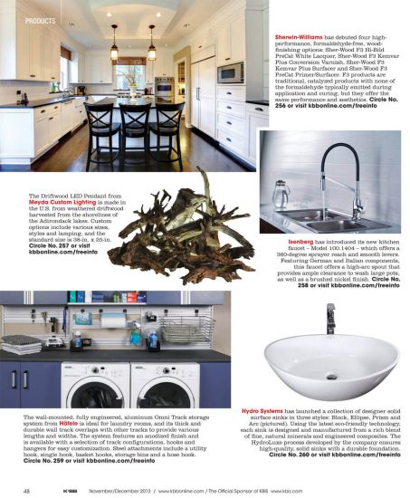 KBB Magazine - Bathtub Feature