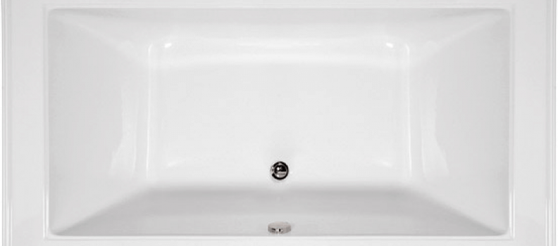 Angel Designer Collection Rectangle – Center Drain