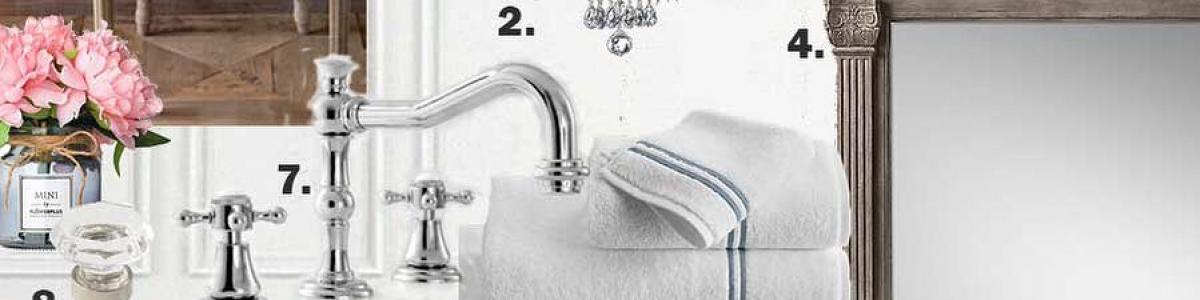 One Room Challenge: Master Bathroom – Tidbits & Twine