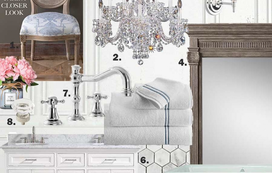 One Room Challenge: Master Bathroom – Tidbits & Twine